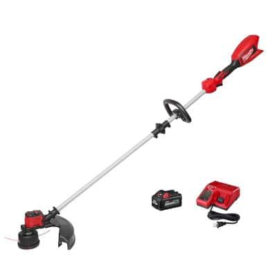 M18 18-Volt Lithium-Ion Brushless Cordless String Trimmer Kit with 6.0 Ah Battery and Charger