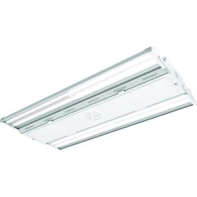 Contractor Select 1.9 ft. 400-Watt Equivalent Integrated LED Dimmable White High Bay Light, 4000K