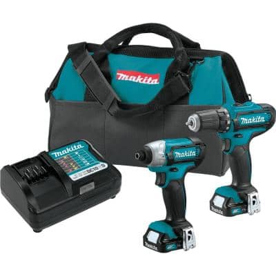 12-Volt MAX CXT Lithium-Ion Cordless 3/8 in. Drill and Impact Driver Combo Kit with (2) 1.5Ah Batteries Charger and Bag