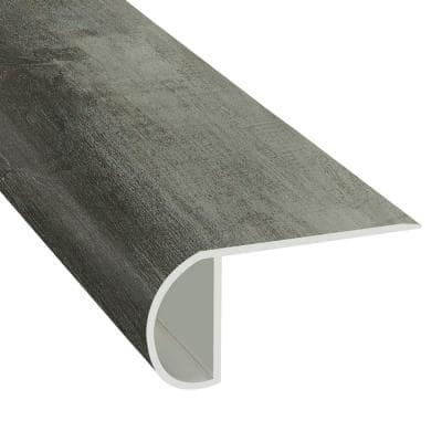 Tundra 1.03 in. T x 2.23 in. W x 94 in. Length Overlap Vinyl Stair Nose
