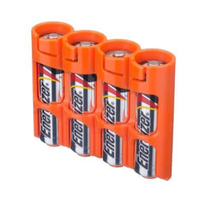Slim Line AA Battery Organizer and Dispenser