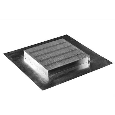 12 in. x 12 in. Square Brandguard Galvanized Steel Fire/Ember Resistant Retrofit Sub Base Vent
