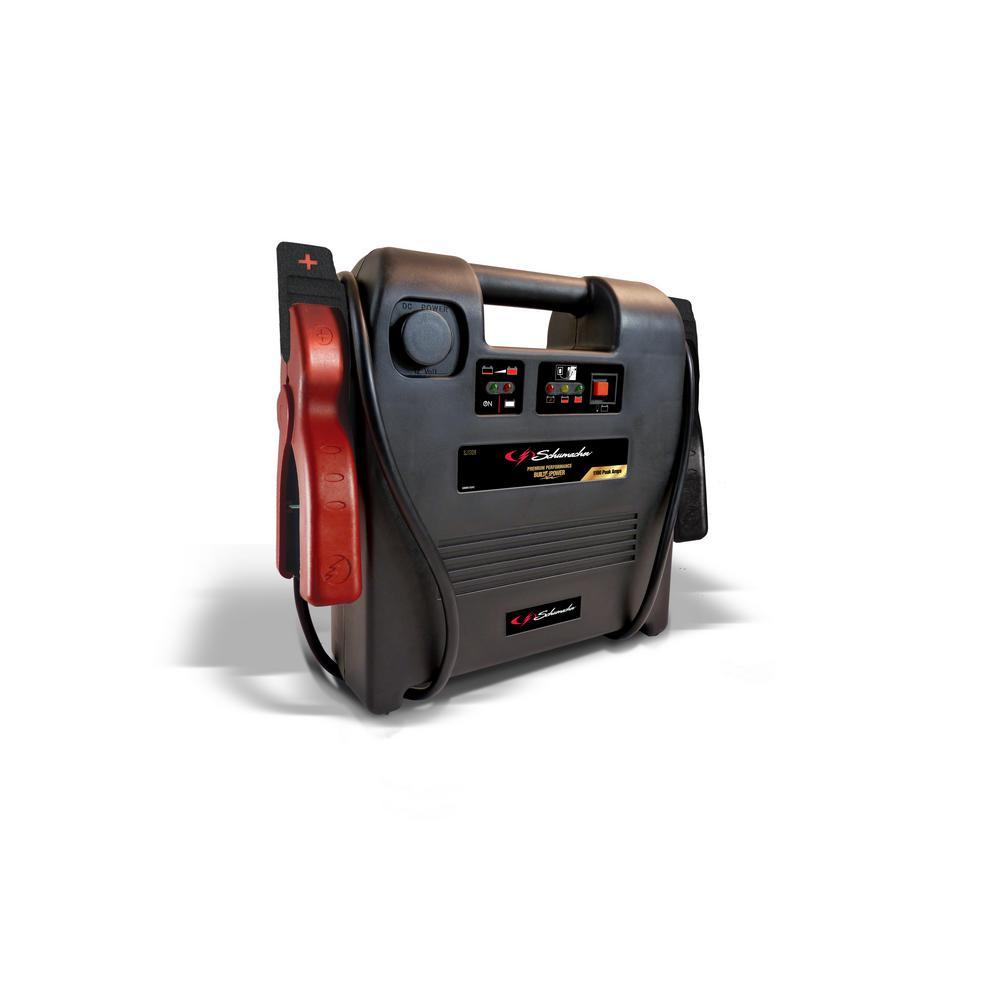 1100 Peak Amp Jump Starter Plus Portable Power