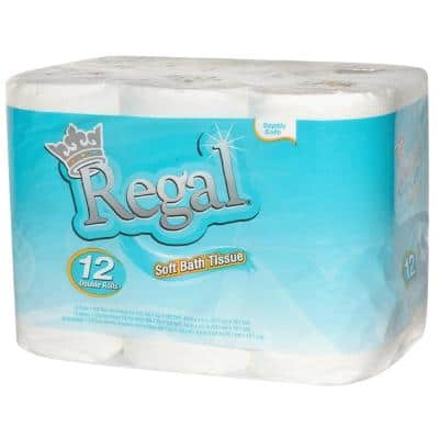 2-Ply Bathroom Tissue (230-Sheets per Roll, 12-Roll Pack)