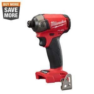 M18 FUEL SURGE 18-Volt Lithium-Ion Brushless Cordless 1/4 in. Hex Impact Driver (Tool-Only)