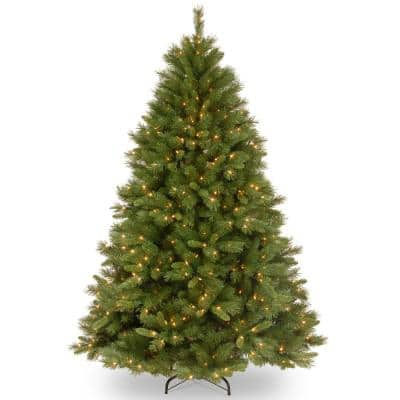 4.5 ft. Winchester Pine Hinged Tree with 150 Clear Lights