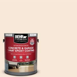 1 gal. White Self-Priming 1-Part Epoxy Satin Interior/Exterior Concrete and Garage Floor Paint