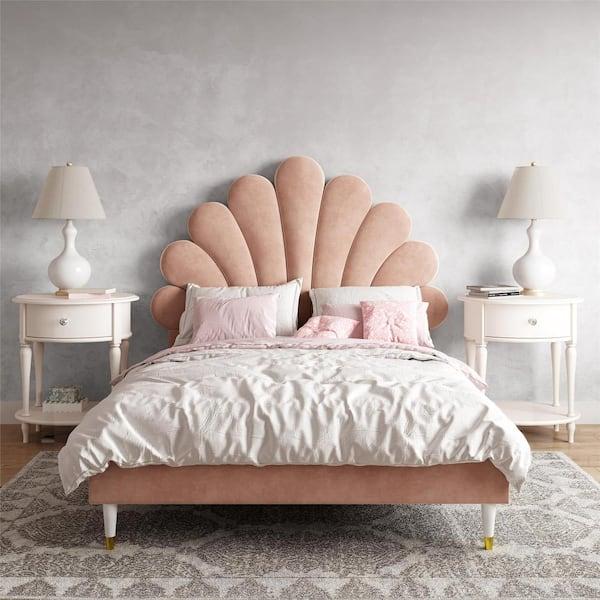 Little Seeds Monarch Hill Pink, Pink Upholstered Bed Frame