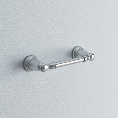 Banbury Pivoting Double Post Toilet Paper Holder in Chrome
