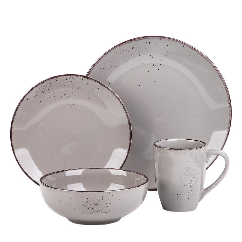Vancasso 4pcs Navia Blue Dessert Cereal Bowls Set Stoneware Ceramic Serving Bowl