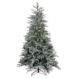 7.5 ft. Unlit Flocked Winfield Fir Artificial Christmas Tree