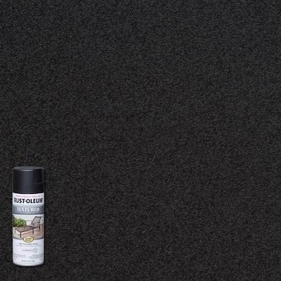 12 oz. Textured Black Protective Spray Paint