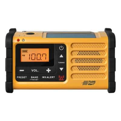 AM/FM Handcrank Solar Emergency Alert Radio