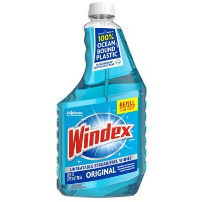 26 fl. oz. Original Blue Glass Cleaner Refill Bottle