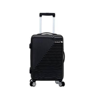 Star Trail 20 in. Black Hardside Spinner Suitcase