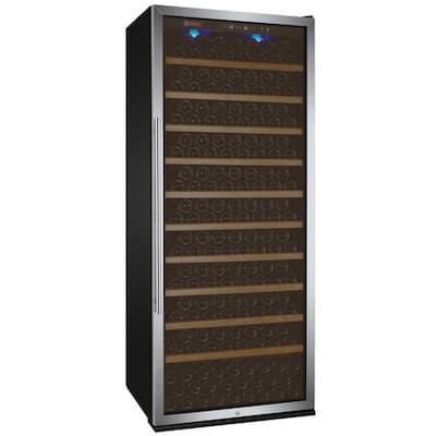 Vite II Tru-Vino Single Zone 277-Bottle Stainless Steel Right Hinge Wine Refrigerator