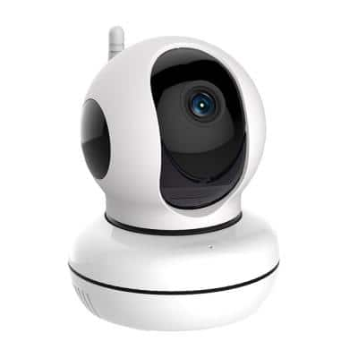 WirelessIP Indoor Pan and Tilt HD Standard Surveillance Camera for Net Connected Home Security and Automation System