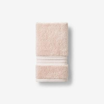 Cotton TENCEL Lyocell Blush Solid Hand Towel
