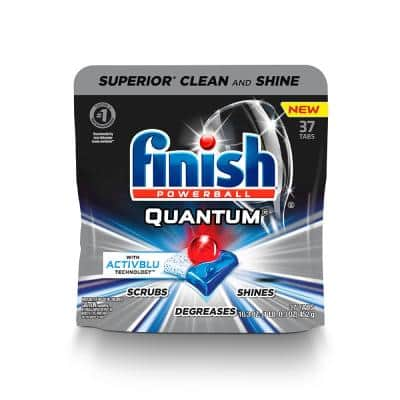 Quantum 0.44 oz. Fresh Scent Dishwasher Tablets (37-Pack)