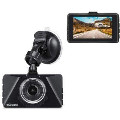 Dash Cam with Wi-Fi, GPS, FHD 1080P 3 in. LCD, 120-Degree Wide Angle, WDR Night Vision
