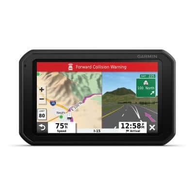 RV 785 GPS Navigator with Bluetooth Lifetime Traffic Alerts and Map Updates and Built-In Dash Cam