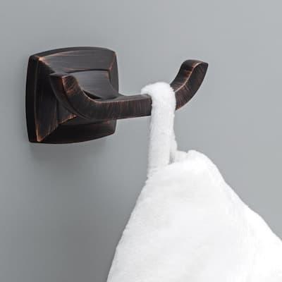 Portwood Towel Hook in Venetian Bronze