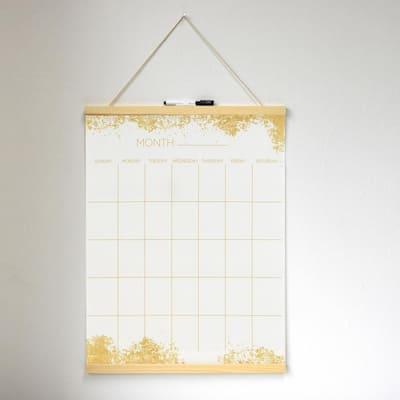 Gold Dust Dry Erase Tapestry Memo Board