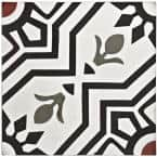 Cemento Ellis Moonlight Encaustic 8 in. x 8 in. Cement Handmade Floor and Wall Tile (5.51 sq. ft. / Case)