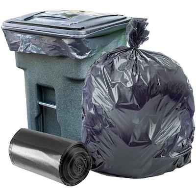 61 in. W x 68 in. H 95 Gal. - 96 Gal. 2.0 mil Black Trash Bags or Rolls (50-Case)