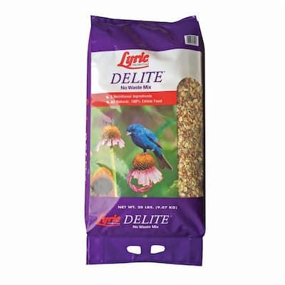 20 lb. Delite High Protein No Waste Wild Bird Mix