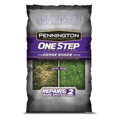 Pennington 8.3 lb. One Step Complete for Dense Shade Mulch Areas with Smart Seed, Mulch, Fertilizer Mix