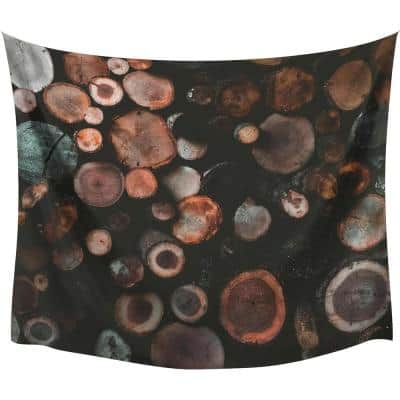 Log Large Wall Tapestry