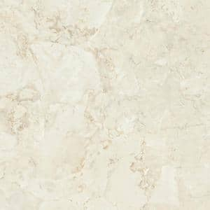 3 in. x 5 in. Laminate Sheet Sample in Calacatta Oro with Standard Fine Velvet Texture Finish