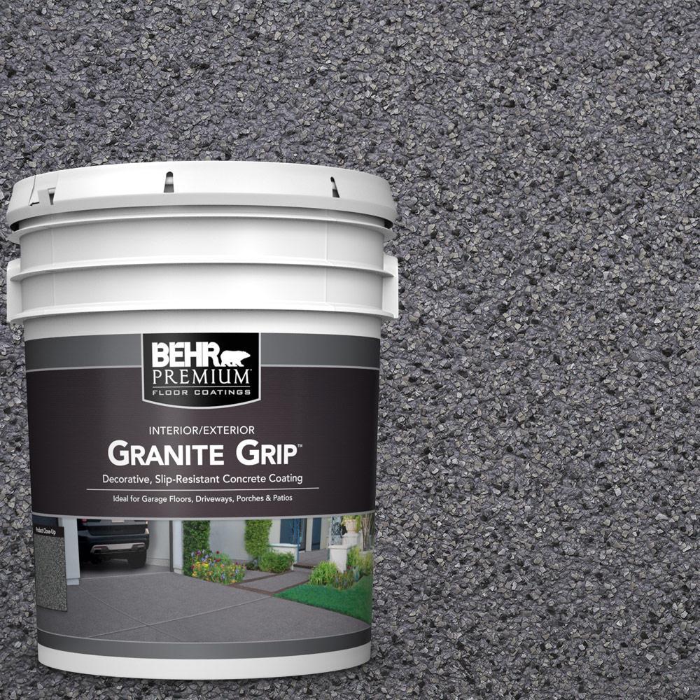 5 Gal. #GG-08 Galaxy Quartz Decorative Flat Interior/Exterior Concrete Floor Coating