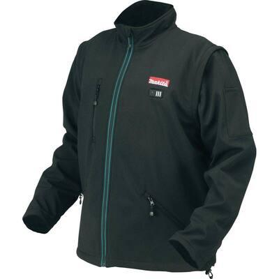 Men's Large Black 18-Volt LXT Lithium-Ion Cordless Heated Jacket (Jacket-Only)