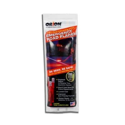 15-Minute Emergency Flares (3-Pack)