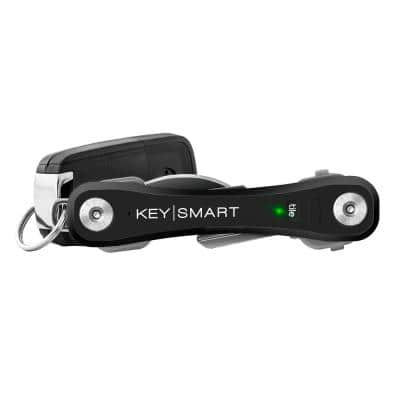 Pro Compact Multiple Key Holder with Tile Smart Location in Black