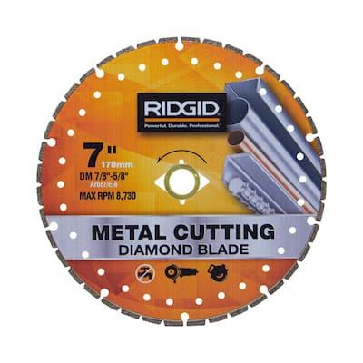 7 in. Metal Cutting Diamond Blade