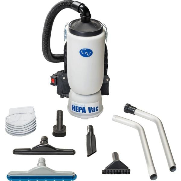 Gv 6 Qt Lightweight Backpack Hepa Vacuum Cleaner With Tool Kit Gv6qt The Home Depot