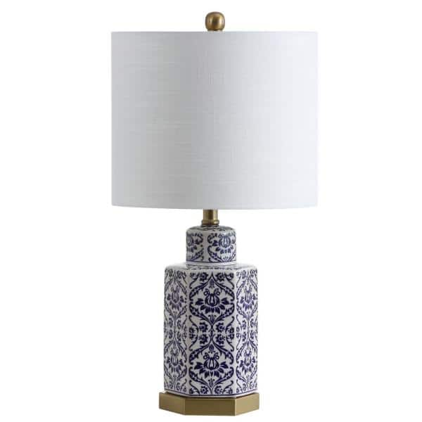 Jonathan Y Diana 23 5 In Ginger Jar, Blue And White Ginger Jar Lamps Uk