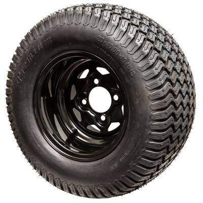 Replacement 20x10-10 Tire/Wheel for Select Swisher Zero Turn Mowers
