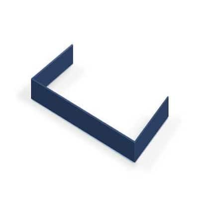 Decorative Toe Kick for 30 in. Range in Blue