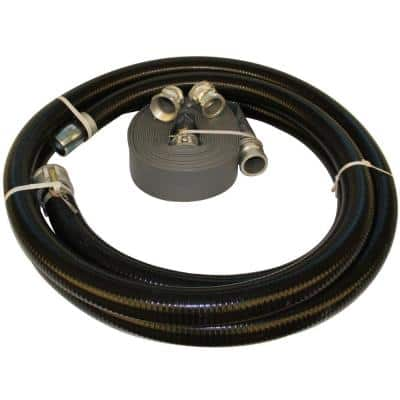 3 in. Hose Kit for Trash, Diaphragm and Centrifugal Pumps