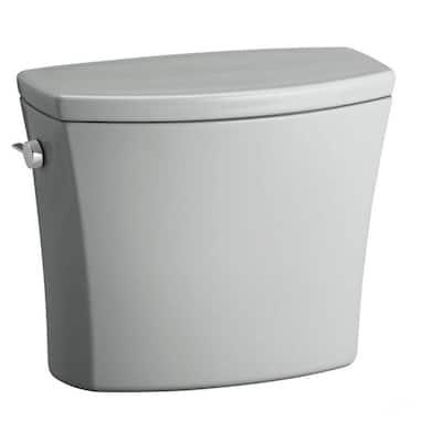 Kelston 1.28 GPF Single Flush Toilet Tank Only with AquaPiston Flushing Technology in Ice Grey