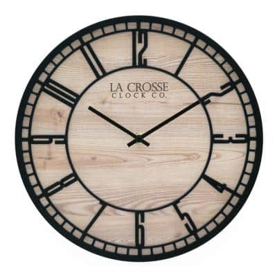 11.5 In. Barrow Analog Quartz Wall Clock