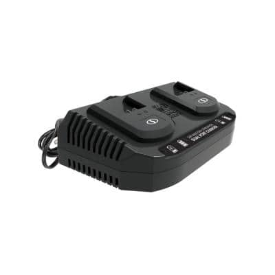 24-Volt Dual Port Quick Charge Docking Station for iBAT24 and 24-Volt BAT Series Batteries