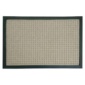Nottingham Tan 24 in. x 36 in. Rubber Backed Carpet Mat