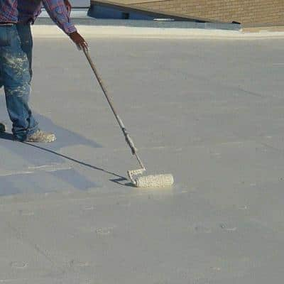 Roof Mate Top Coat 5 Gal. Evergreen Acrylic Elastomeric Roof Coating (15-Year Limited Warranty)