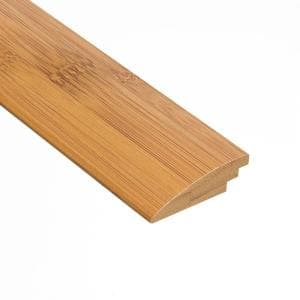 Horizontal Toast 3/8 in. Thick x 2 in. Wide x 47 in. Length Bamboo Hard Surface Reducer Molding