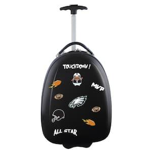 NFL Philadelphia Eagles 18 in. Black Kids Pod Luggage Suitcase